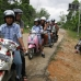 Our ride to the school in Borneo