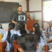 Action agents conducting a workshop at the local highschool in Sintang on forest ecosystems.