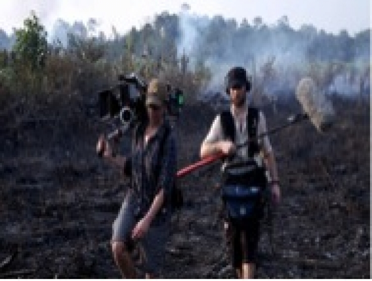 Film Crew in Borneo